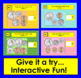 Boom Cards™ Money: Coin Counting: Quarter, Dime, Nickel, Penny - Interactive