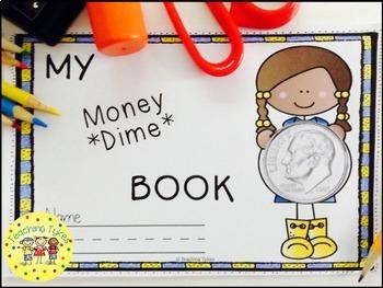 Money Coin Dime Interactive Book