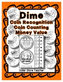 Money Coin - Dime - How many do I need? Book - Craft Measurement
