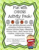 Money Coins Activity Set Pack!