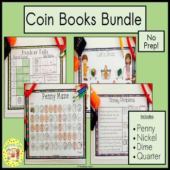 Money Coin Penny Interactive Book