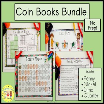 Money Coin Penny Book