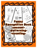 Money Coin - Penny Recognition Booklet - Crafty Work Sheet Style