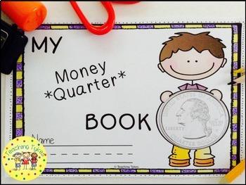 Money Coin Quarter Book