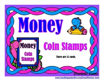 Money - Coin Stamps