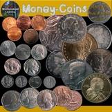 Money Coins Clip Art Photo & Artistic Digital Stickers