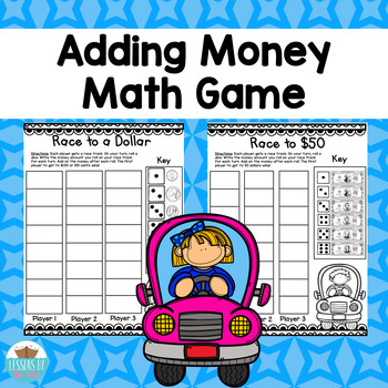 Money Coins & Dollars Math Game