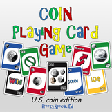 Money Math (Coins) Identification Card Game