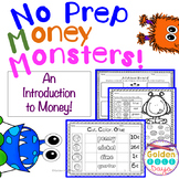 Money & Coins NO PREP Printables For Grades K, 1 & 2!