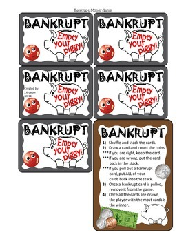 Money (Coins and Bills) Games and Activities