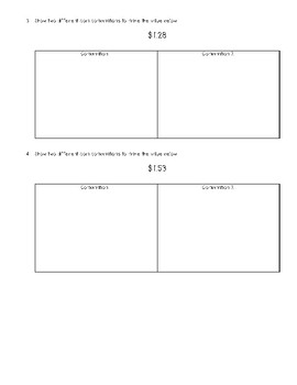 Money Combination Quiz