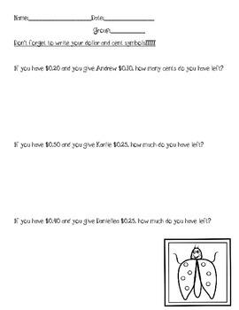 Money Common Core
