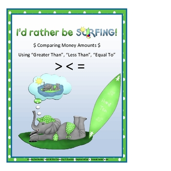 """Money  Comparing """"Rather Be Surfing"""""""