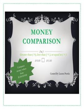Money Comparison $1.00-$19.00