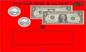 Money Counting Activity Game (US Currency)
