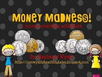 Money Counting Activity Pack