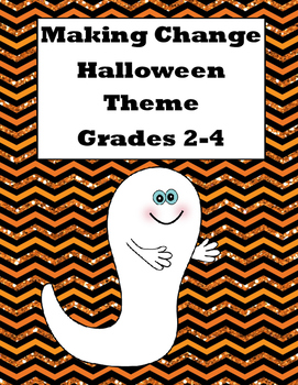Money-Counting Change-Halloween Hunt-Write the Room-Grades