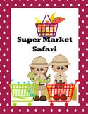 Money-Counting Change-Super Market Safari Hunt-Station Act