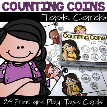 Money - Counting Coins Activity