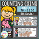Money Counting Coins Card Bundle