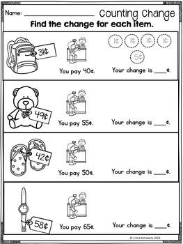 Money Worksheets Freebie