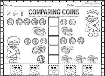 Money Counting Coins FREEBIE