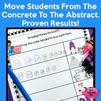 Counting Money  - Games - Worksheets - Activities and Games - BUNDLED!