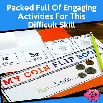 Counting Money  - Games - Worksheets - Activities-Word Problems - BUNDLED!