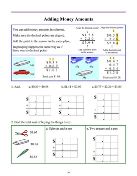 Money & Counting Coins, Grades 1 - 2