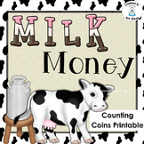Money - Counting Coins - Milk Money