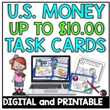 Money-Counting U.S. Money up $10.00