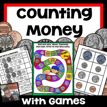 Counting Money Coloring Teaching Resources | Teachers Pay Teachers