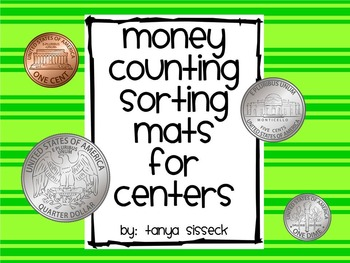 Money Counting Sorting Mats for Centers