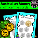 Money Counting Task Cards