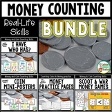 Money and Coin Counting Bundle