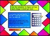Money Counting and Making Change SMART Notebook Lesson