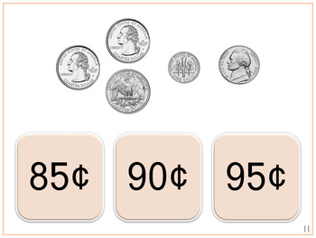 Money | Counting the Value of Coins | Digital Tasks for Special Education