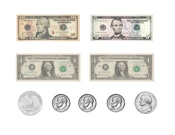 Money Counting to $20