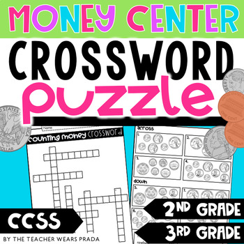 Money Crossword Puzzle By The Teacher Wears Prada Tpt