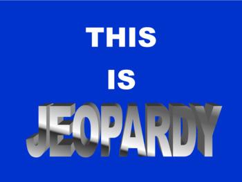 Money & Decimals Jeopardy PowerPoint Game