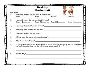 Money Desktop Basketball - March Madness
