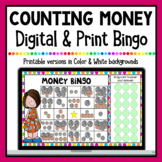 Money Digital Bingo (Counting Coins) | Print & Google Classroom