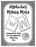 Money - Dime -  Manipulative Mats Upper & Lower Case Lette