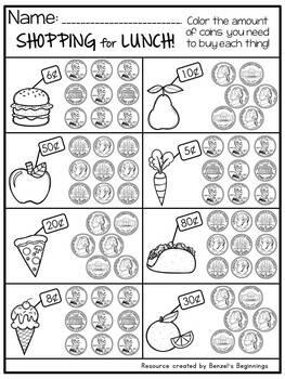 Money {Dimes, Nickels & Pennies}