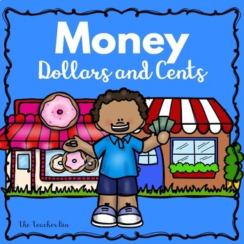 Kindergarten -2nd grade- Special Education - Money Dollars and Cents