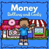 Kindergarten -2nd grade- Special Education - Money Dollars