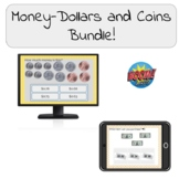 Money- Dollars and Coins Bundle! Boom Cards