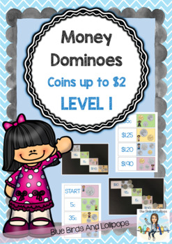 Money - Dominoes - Australian Coins & Notes - Up To $100