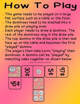 Money Dominoes-Counting Money