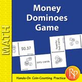 Money Dominoes Game: U.S. Coins & Currency Practice